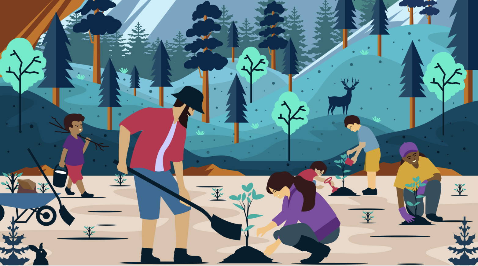 plant a tree day poster