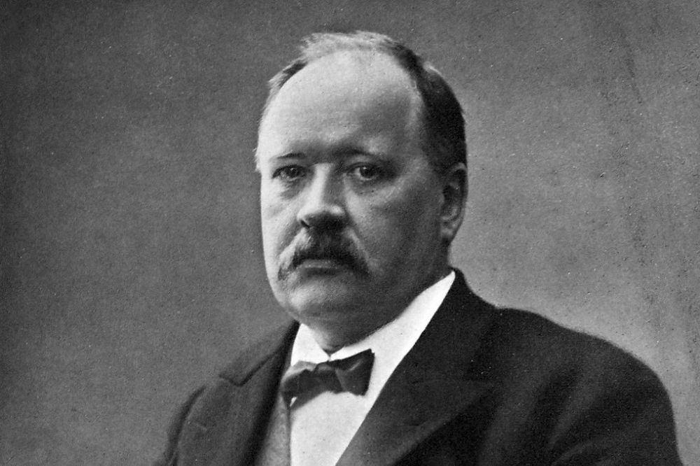 Portrait of scientist Svante Arrhenius