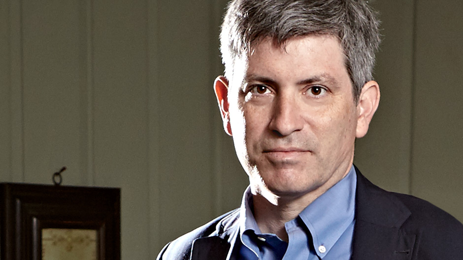 Portrait of science journalist carl zimmer