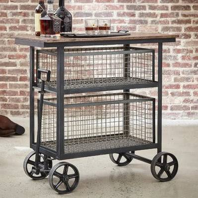 Harold Bar Cart