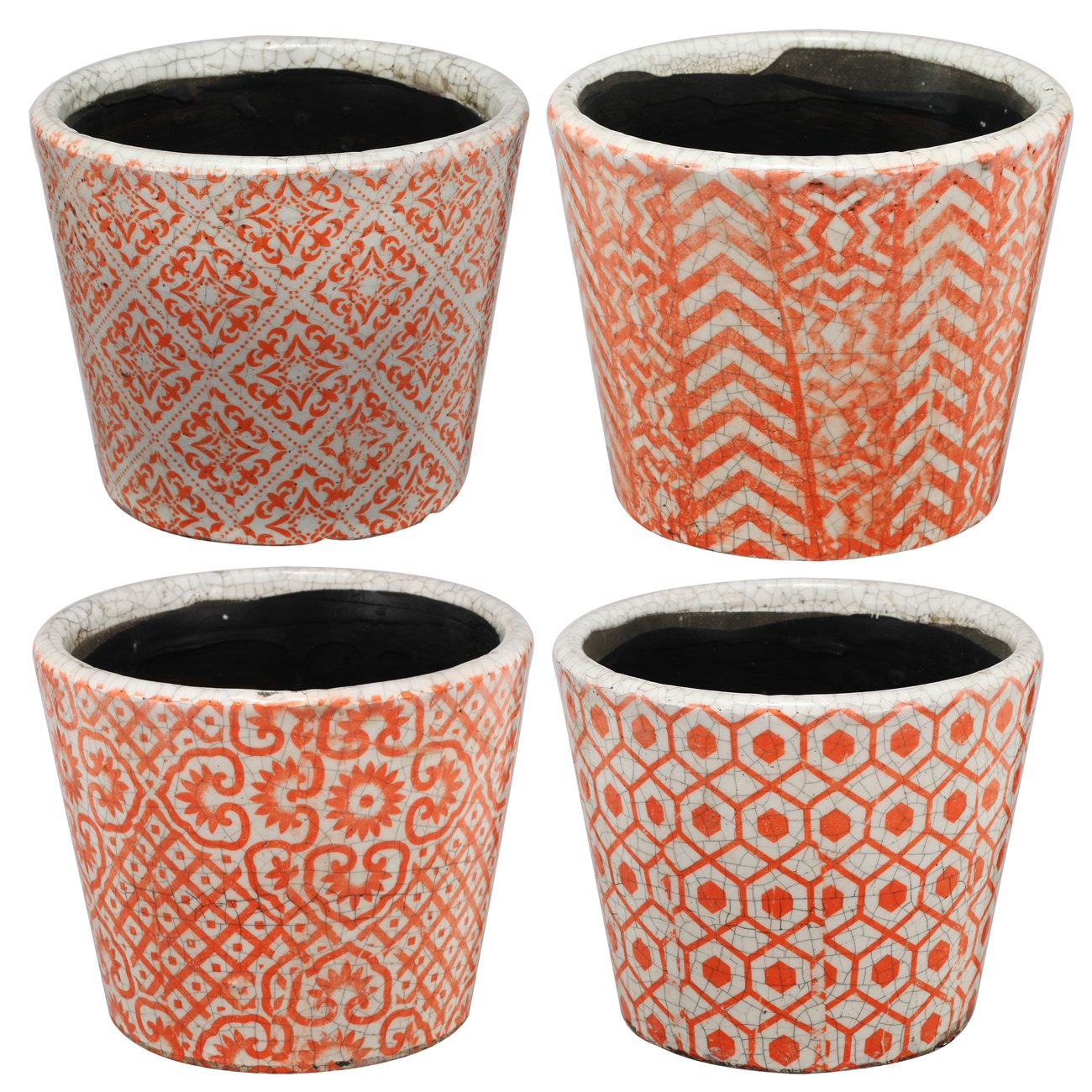 Bailey Terra Cotta Planter Set