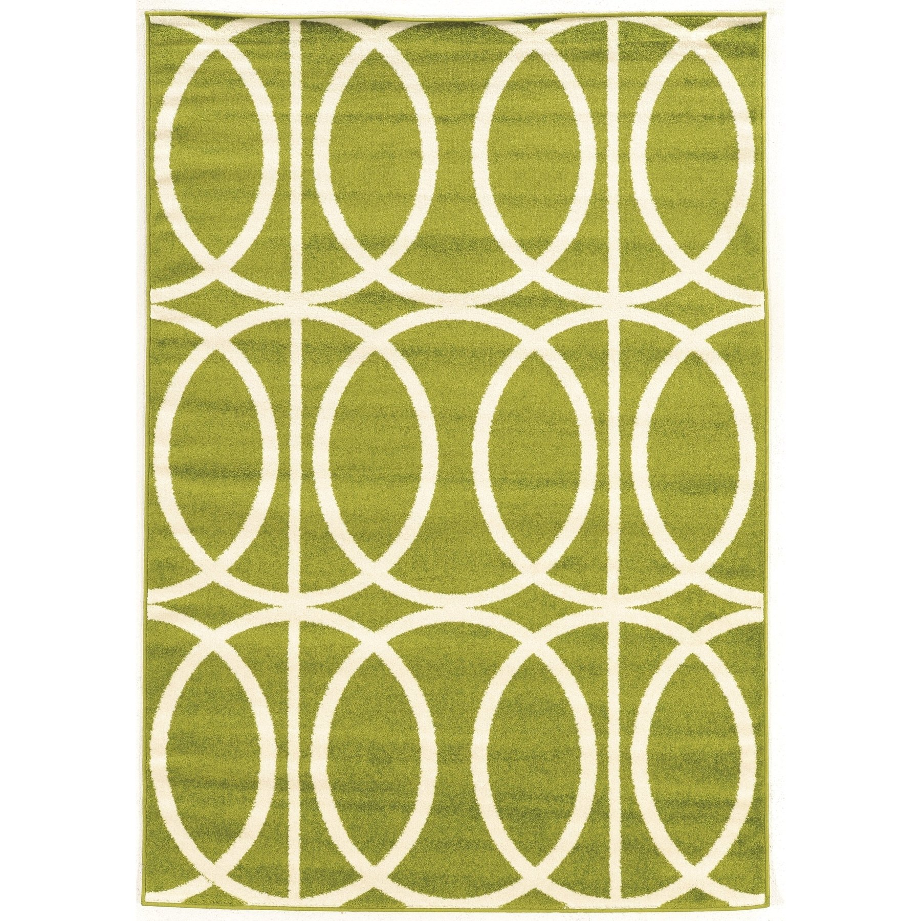 Claremont Rug - Green/Cream
