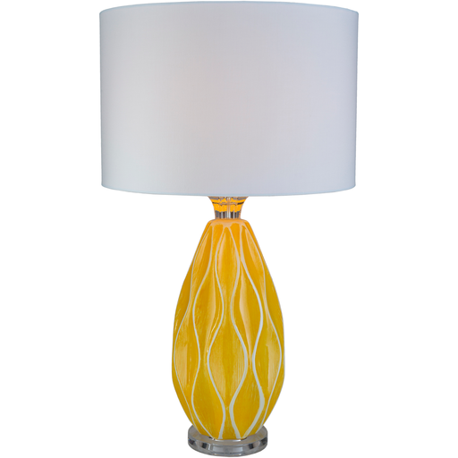 Bethany Ceramic Table Lamp - Yellow