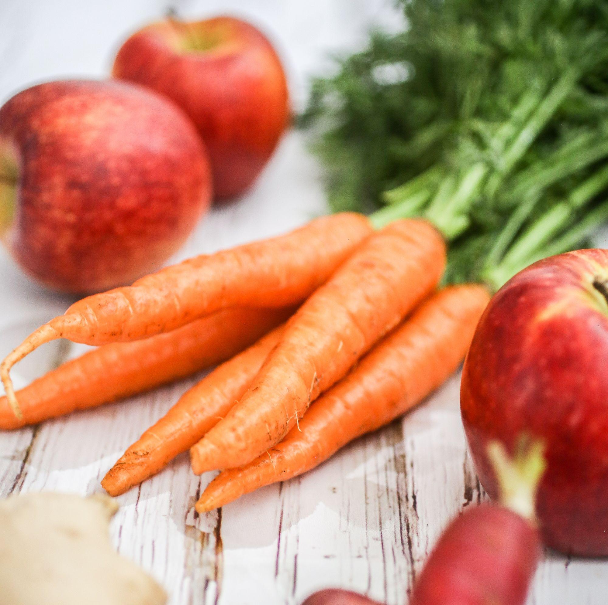 Fruit and veg - grain free dog food blog