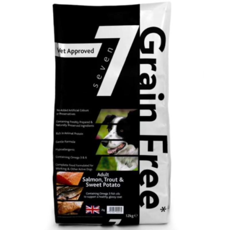 Seven Adult Salmon & Trout Grain Free Dog Food