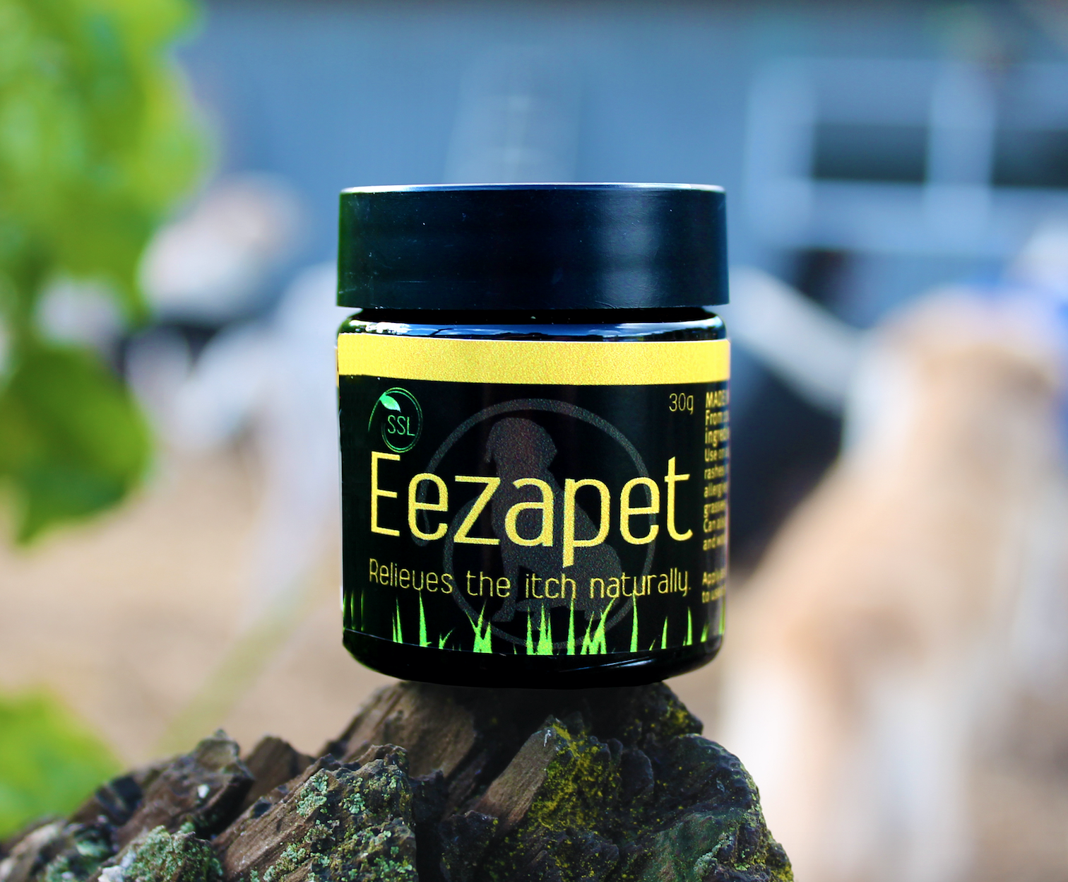 Eezapet, Dog itch, Itchy dog, Dog allergies, NZ made, natural dog products