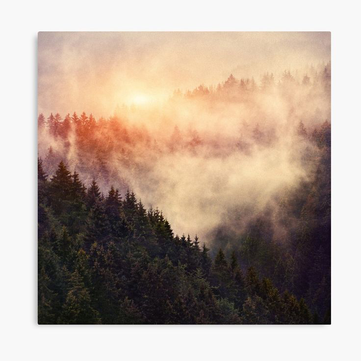 In My Other World Landscape Photography Canvas Wall Art Print by Tordis Kayma