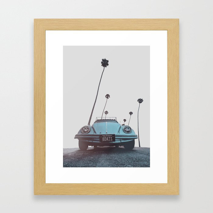 California Framed Art Print by Andreas12
