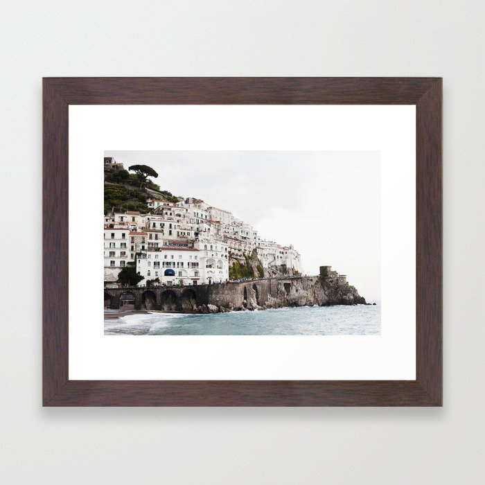 Amalfi Coast Framed Art Print by josephandjaime