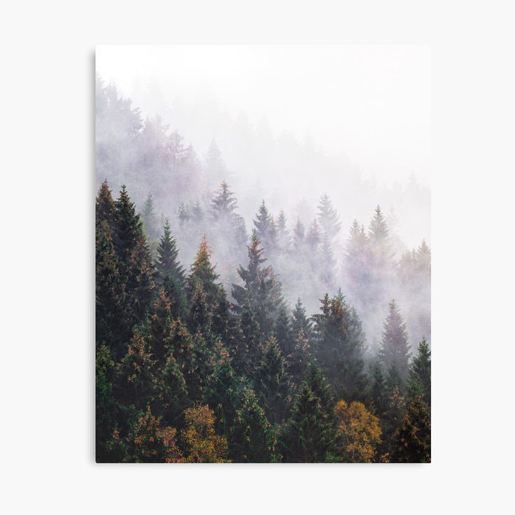 The Big Calm Landscape Photography Canvas Wall Art Print by Tordis Kayma