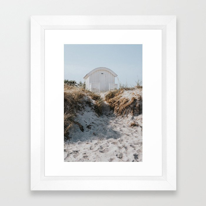 Salty Summer - Landscape and Nature Photography Framed Art Print