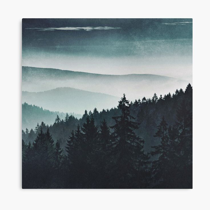 Mountain Light Landscape Photography Canvas Wall Art Print by Tordis Kayma