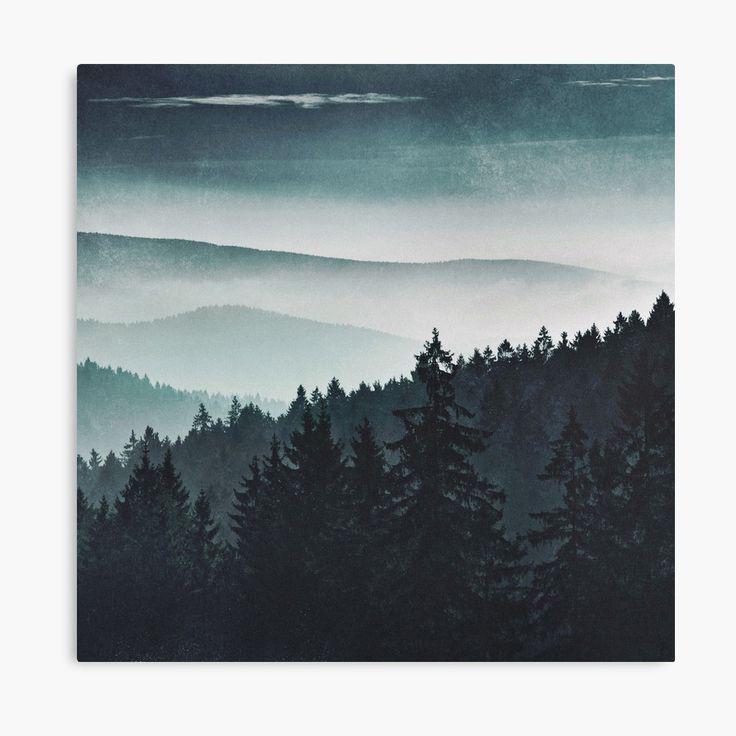 Mountain Light Landscape Photography Canvas Wall Art Print by Tordis Kayma