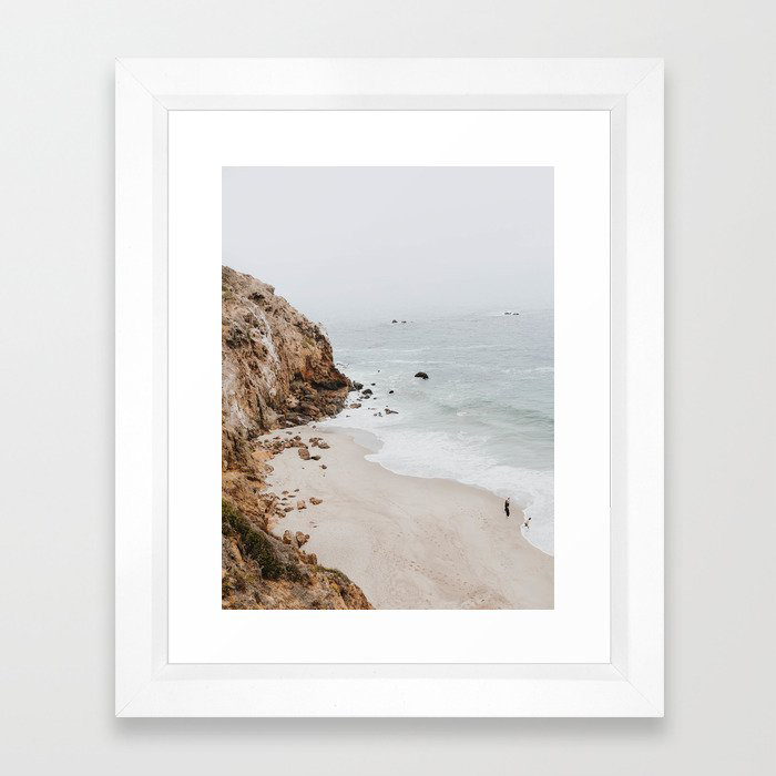 malibu coast / california Framed Art Print by mauikauai