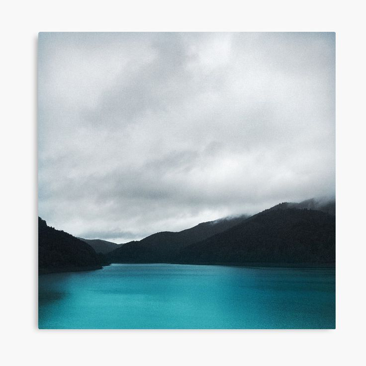 The Waters And The Wild Landscape Photography Canvas Wall Art Print by Tordis Kayma