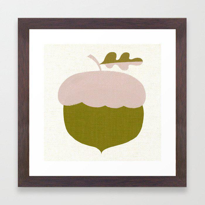 autumn Framed Art Print by marella makes