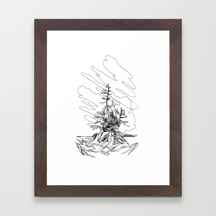 Tofino, BC Framed Art Print by Jessa Gilbert