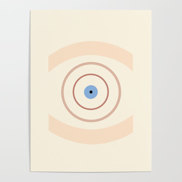 (Bull's) Eye Poster by Meg Wilson
