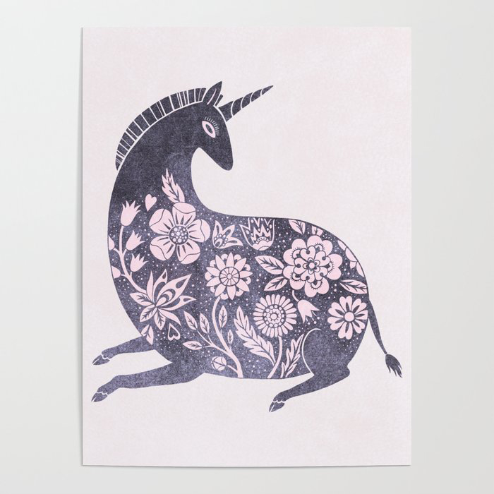 Cosmic unicorn Poster by A.Vogler