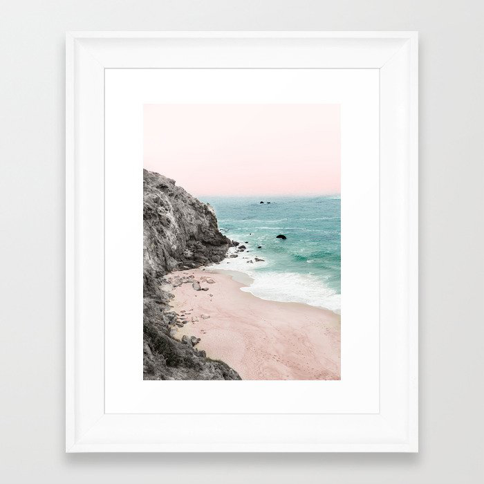 Coast 5 Framed Art Print by Andreas12