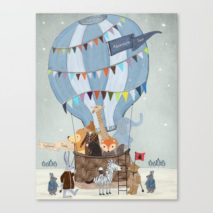 little adventure days Canvas Print by bri.buckley