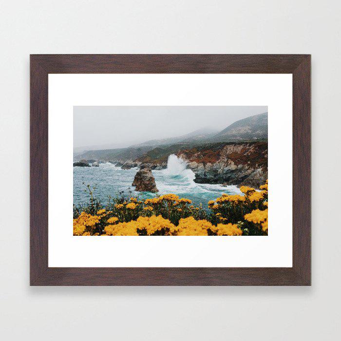 Big Sur - Micah Hamilton Framed Art Print by Micah Hamilton
