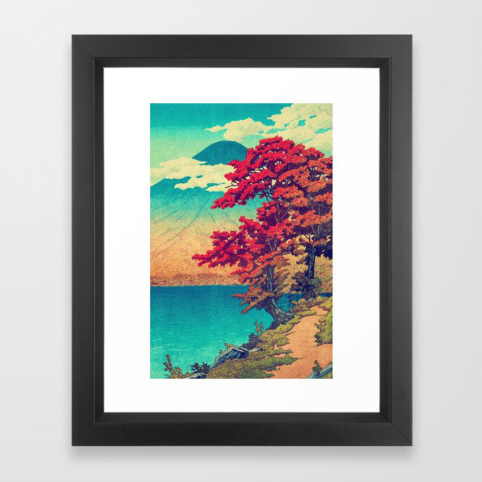 The New Year in Hisseii Framed Art Print by Kijiermono