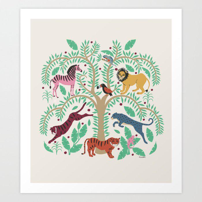 Tree of Life Art Print by Megan Galante