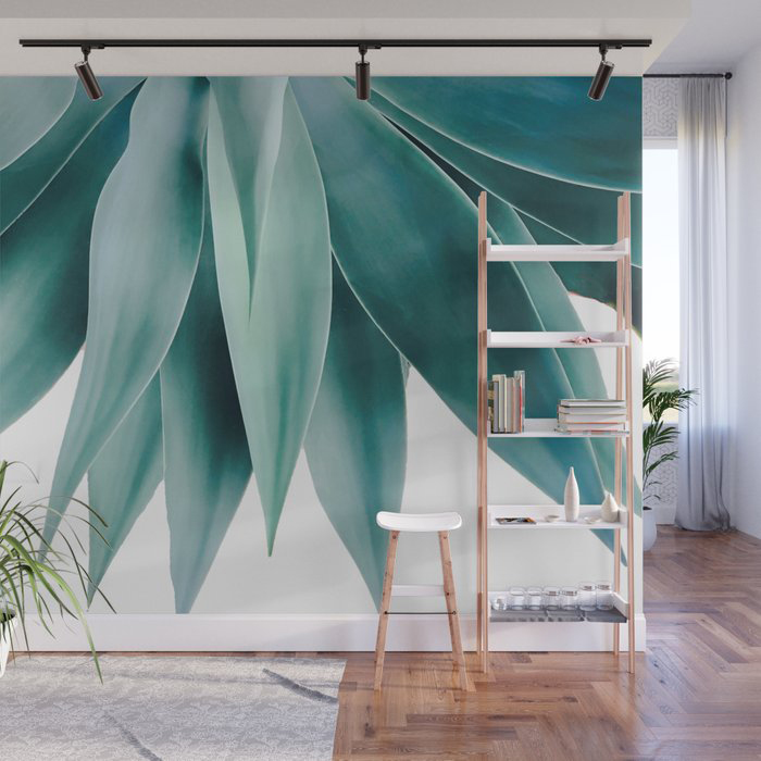 Agave fringe Wall Mural by Gale Switzer