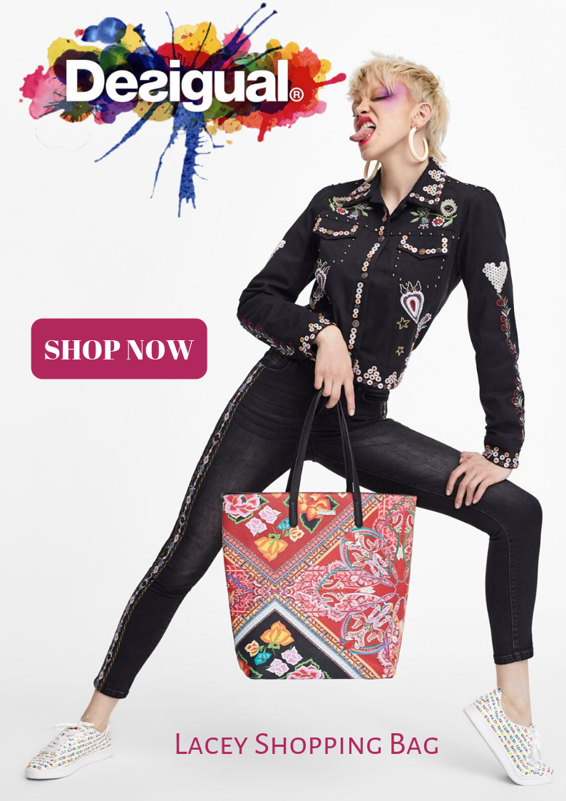 Desigual - Lacey Shopping Bag - Pizazz Boutique