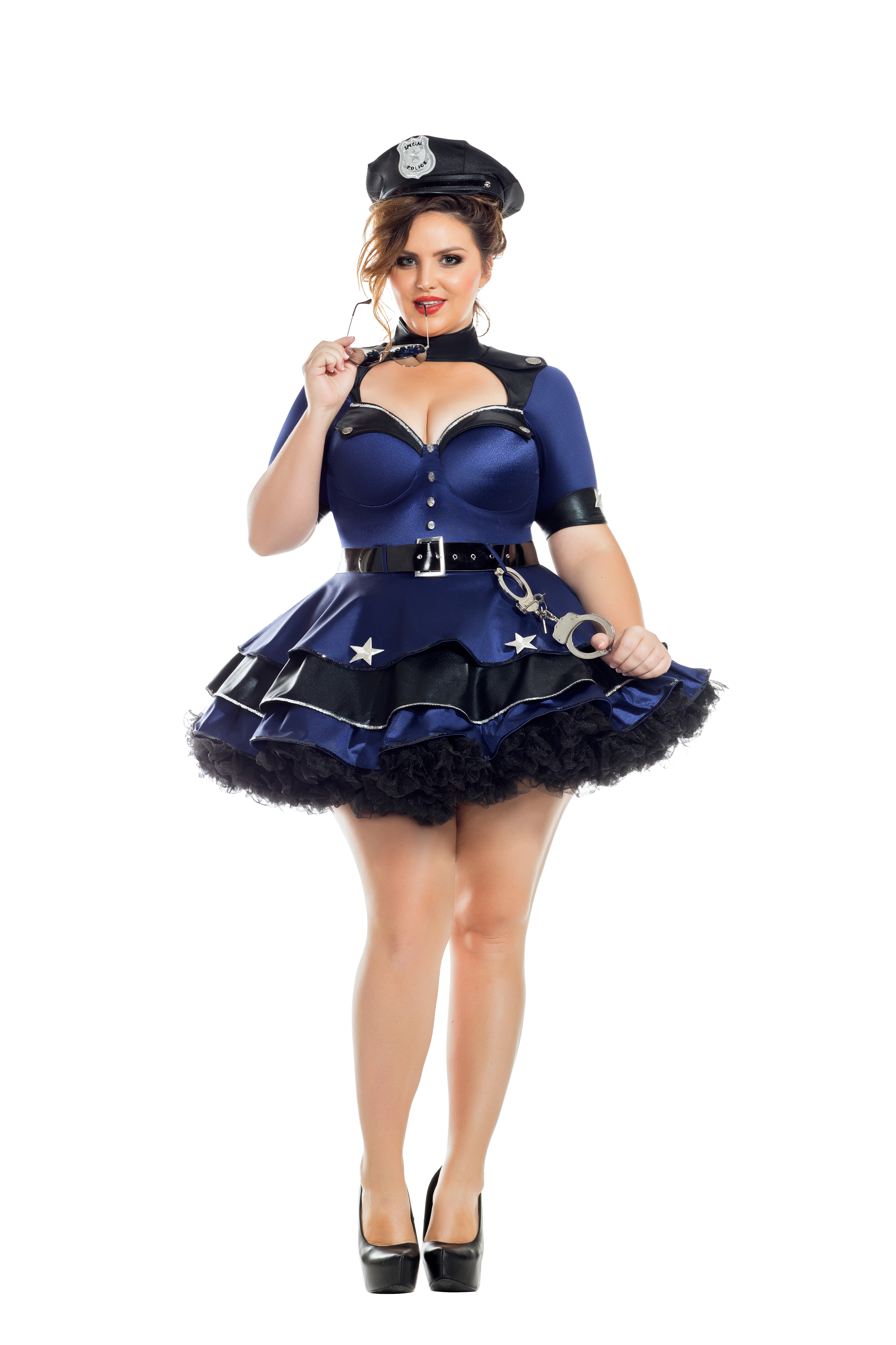 Party King Plus Size Lovely Recruit Womens Costume