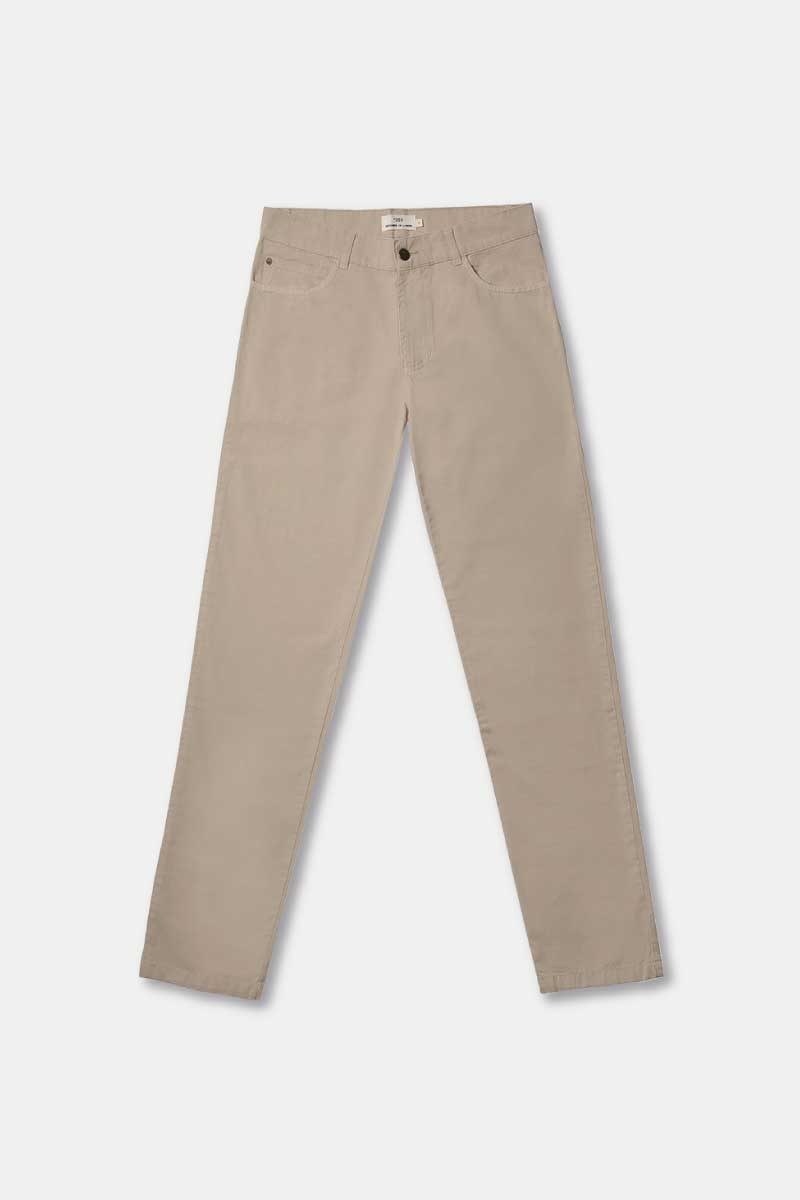 Light Twill Pants Beige