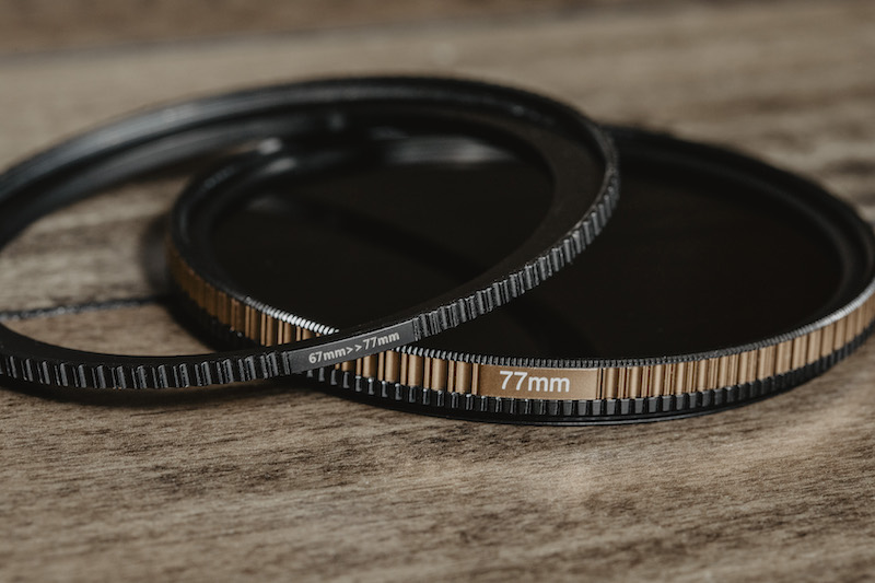 Step-up ring for the PolarPro QuartzLine Neutral Density Filters