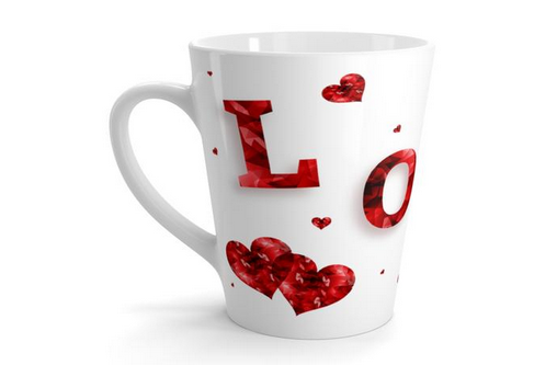 Valentine's Day Themed Mugs