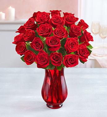 The Fugly Mug Company - Two Dozen Roses from our Partner 1-800-FLOWERS