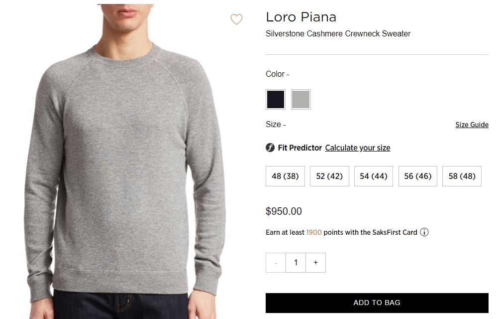 Basic cashmere crewneck from Loro