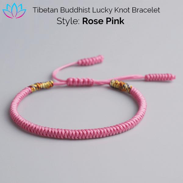 409567b712 Lucky Knot Buddhist Bracelets - Reclaiming Zen