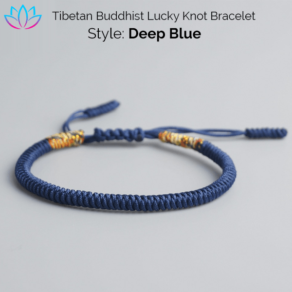 e8b83fcdde Lucky Knot Buddhist Bracelets - Reclaiming Zen