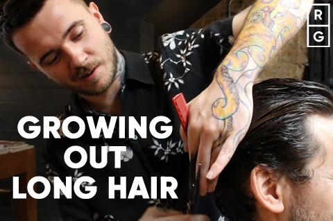 How To Grow Out Long Hair Past The Awkward Stage For Men