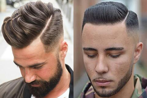 Men's Hairstyles With Side Partings - How To Style The Side Part Haircut 1940's Hair