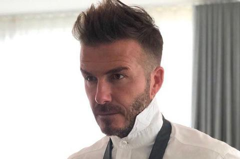 Every David Beckham Haircut & How To Get Them