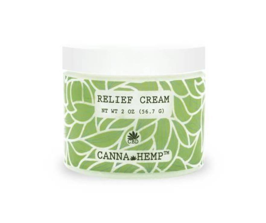 canna hemp cbd pain relief cream