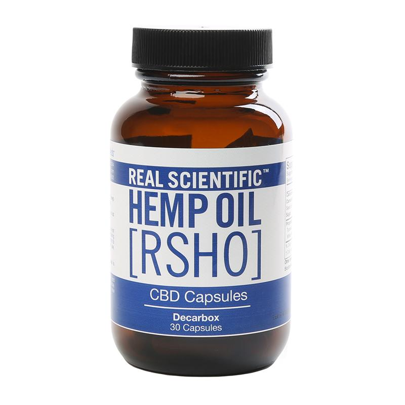 Rsho Blue Label 25mg Decarboxylated CBD Capsules