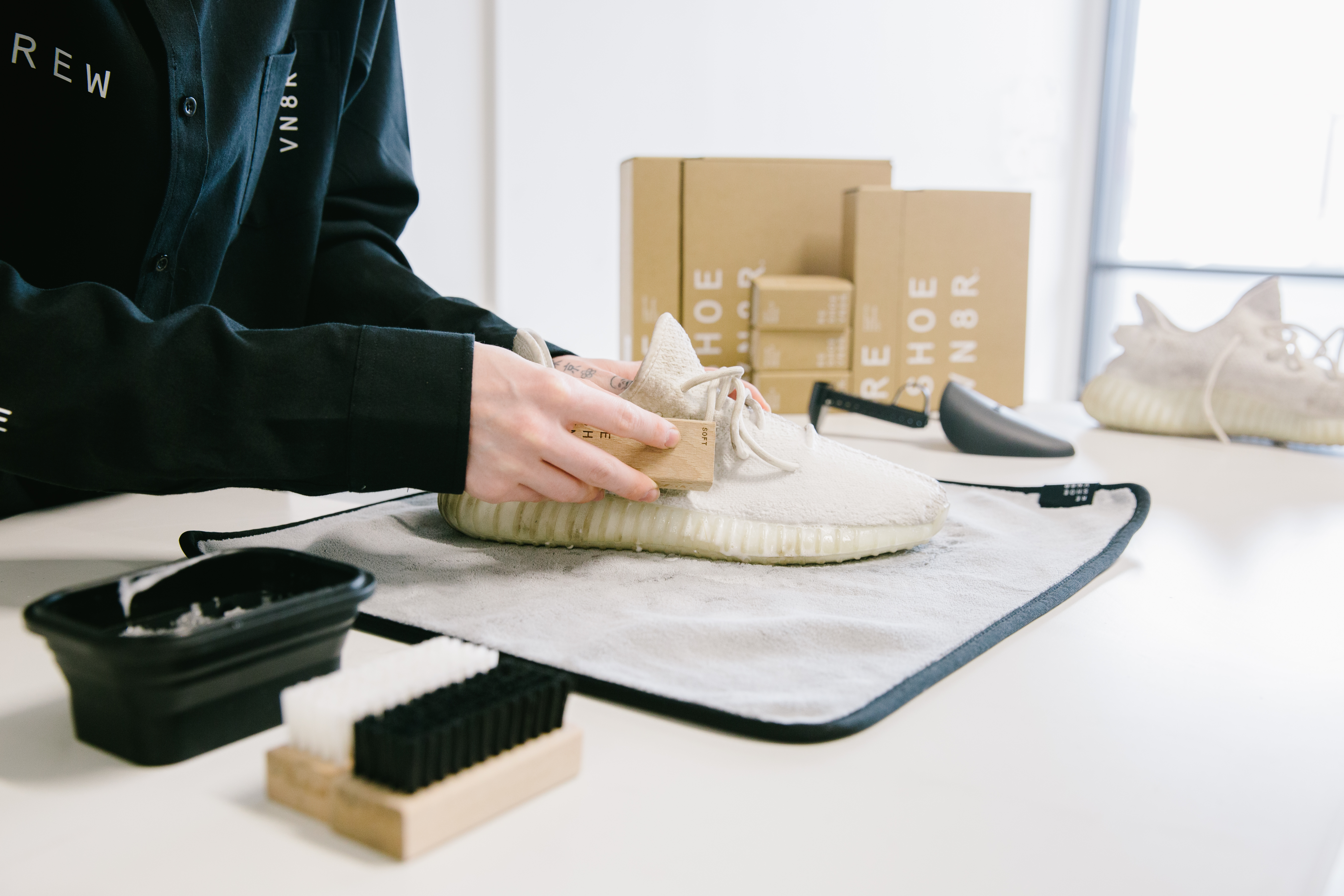 How to Clean White Yeezys at Home