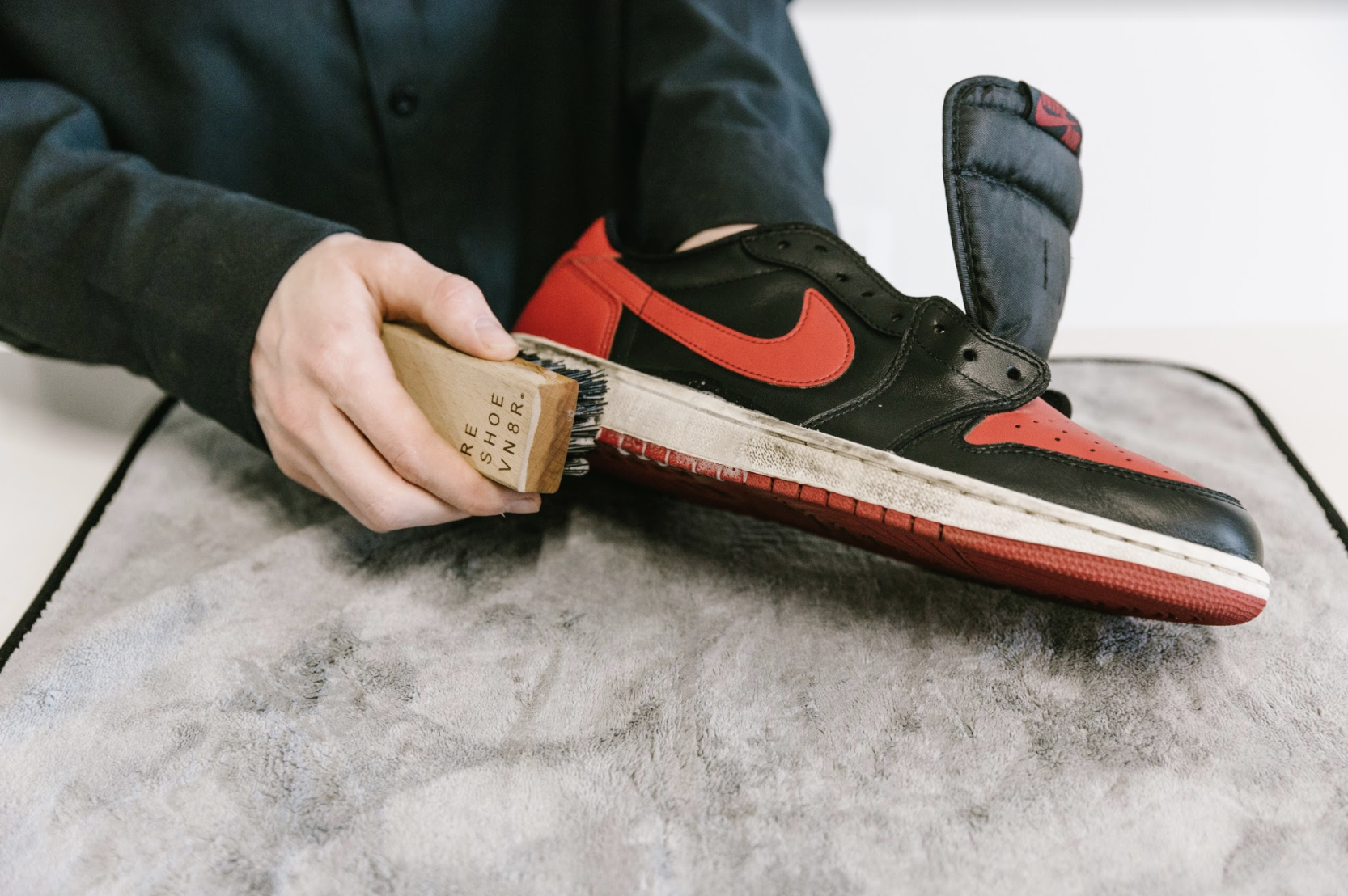 How to Clean Jordan 1 Bred Toes