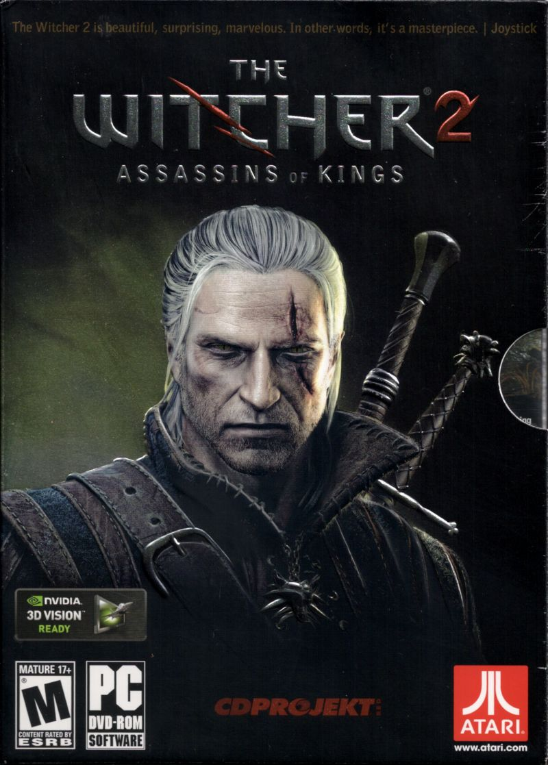 The Witcher 2 Console Game