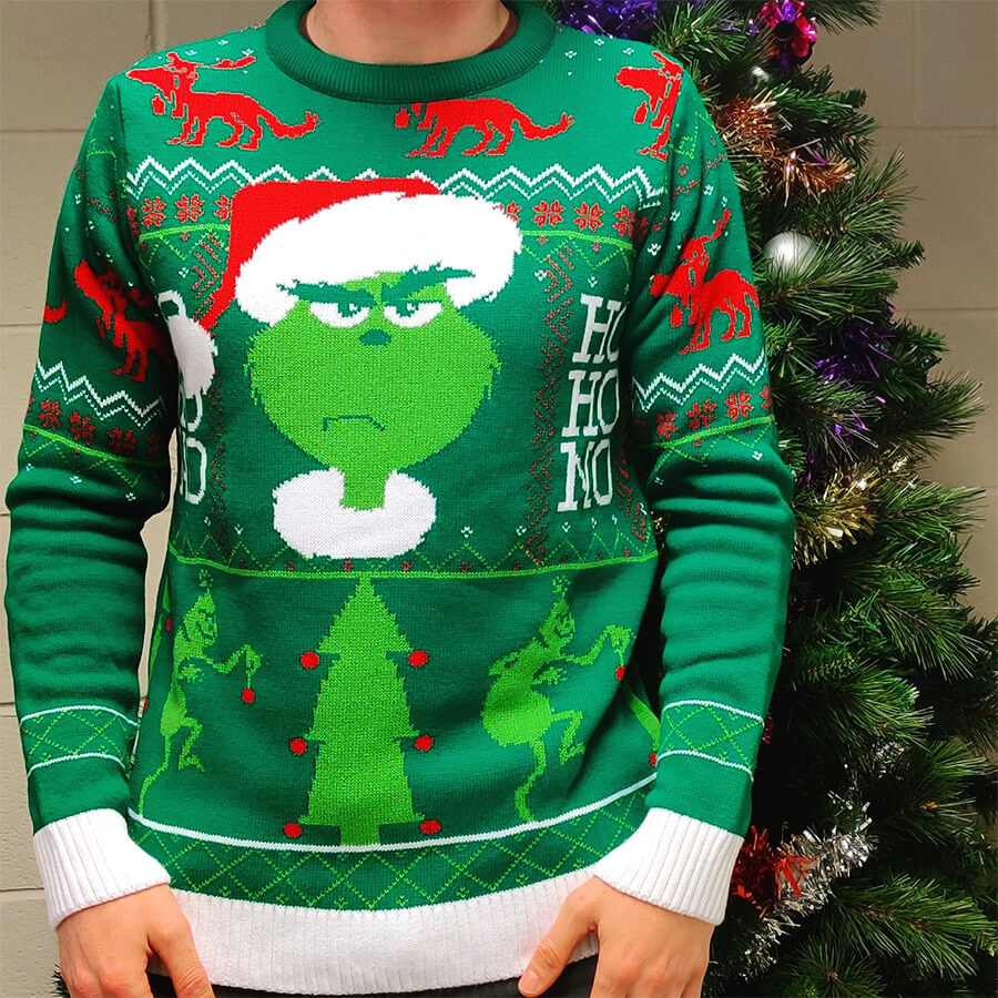Retro Styler The Grinch Christmas Jumper