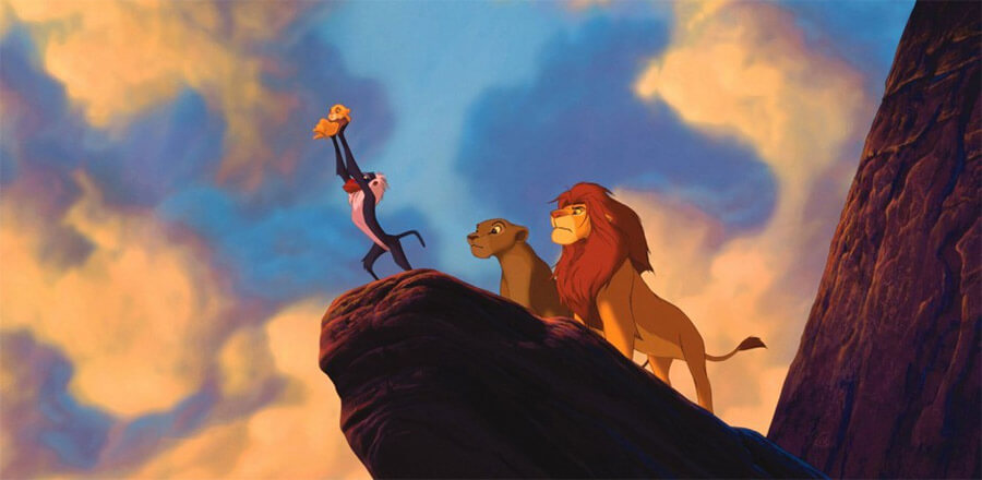 Simba at Pride Rock