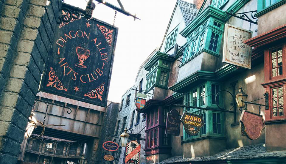 Diagon Alley in the Daytime