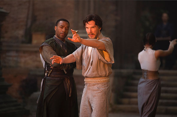 Doctor Stephen Strange, being trained in the Mystic Arts
